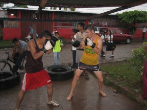 On The Road: Boxing In Nicaragua