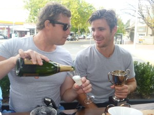 Male Bonding: The Canberra Marathon tour is now a yearly staple.